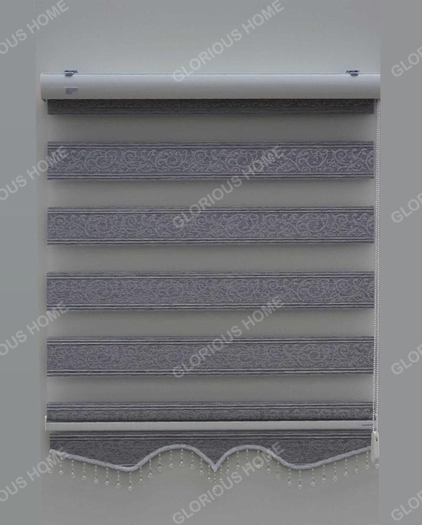 zebra zavjese delux siva gl-11