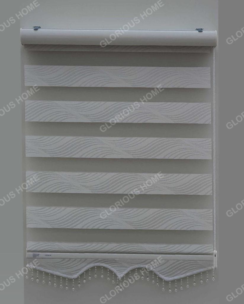 zebra zavjese delux bijela gl-06