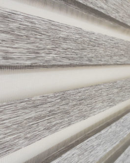 Zebra zavjesa – Siva Jeans
