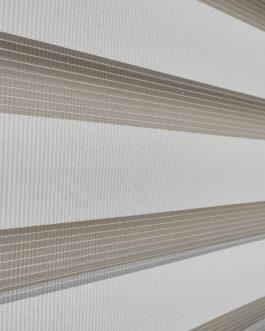 Zebra zavjesa – Siva Lux