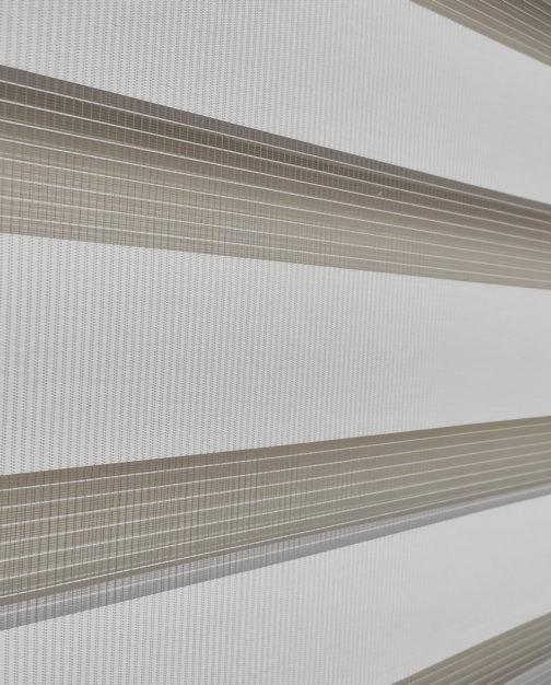 Zebra zavjesa - Siva Lux
