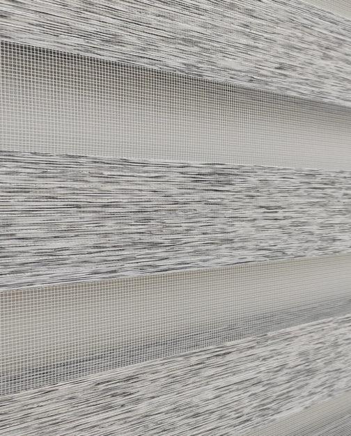 Zebra zavjesa - Svijetlo Siva