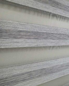 Zebra zavjesa – Siva delux
