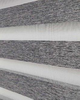 Zebra zavjesa – Tamno siva